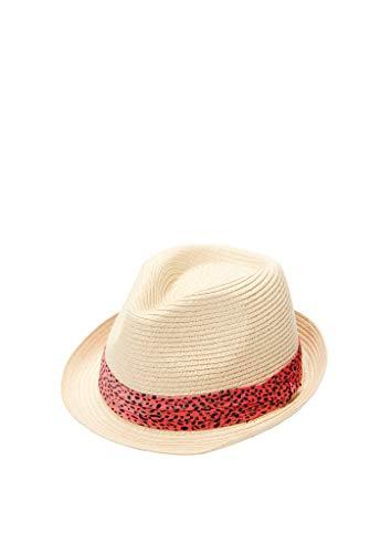 s.Oliver Damen Sommerlicher Hut beige 56