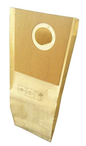 Staubsaugerbeutel geeignet Henkel Floordress Lorito, Floordress QFM35, Floordress QFM46, Floordress QTM36, Floordress QTP35 etc. - 10 Papierbeutel