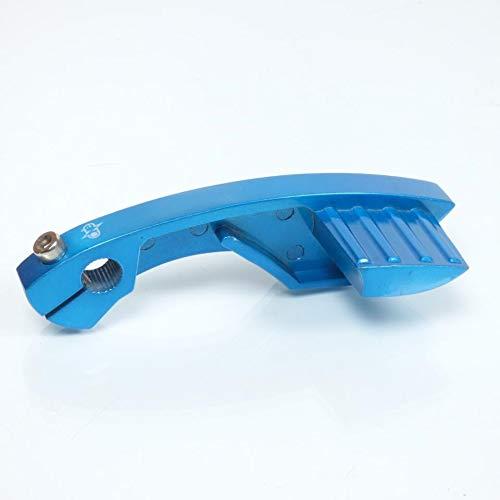 one by Camamoto cod. 77090594 pedale pedivella leva avviamento accensione messa in moto colore blu compatibile con yamaha aerox slider neo's / mbk stunt booster spirit bw's nitro motori minarelli