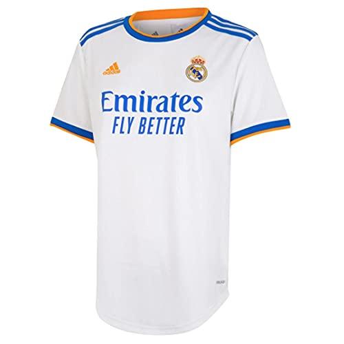 Adidas - Real Madrid Temporada 2021/22, Camiseta, Primera Equipación, Equipación de Juego, Mujer