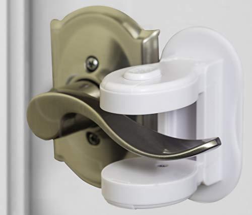 Door Handle Baby Proof Device - (2 Pack) | Door Handle Child Safety Lock | Safety Door Locks for Kids | Child Proof Locks Door Handle Lock | Door Handle Baby Proof | childproof Door Lever Lock
