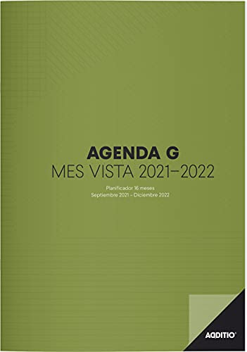 Agenda G 2021-2022 16 meses