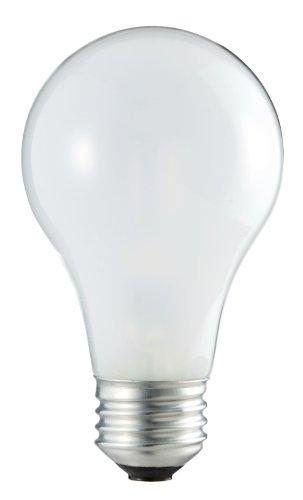 Philips 409847 Halogen 43-Watt (60-Watt Equivalent) A19 Soft White Light Bulb, 2-Pack
