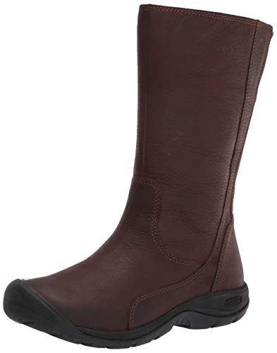 KEEN Women's Presidio 2 Boot Mid Calf, Chestnut/Mulch, 10.5