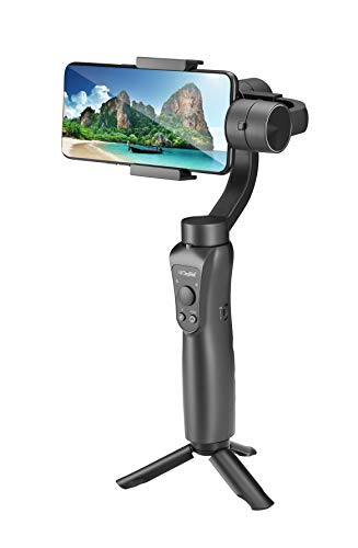DIGITEK® 3-Axis Handheld Gimbal Stabilizer   for Smartphones & Gopro   with Face & Object Tracking Motion   Various Time Lapse Features   and Upto 12 Hrs. Operational Time (DSG 005)