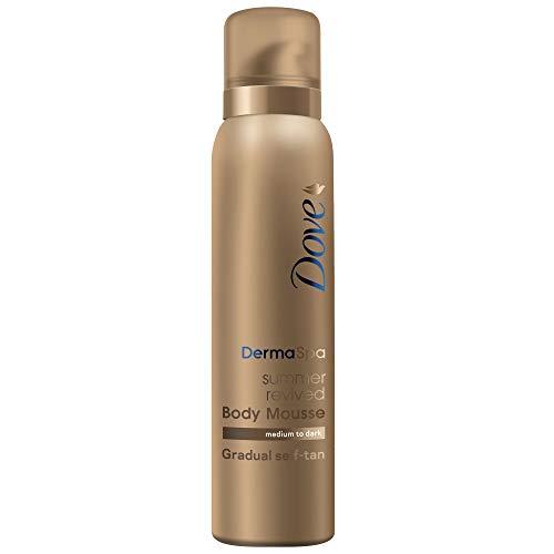 Dove DermaSpa Summer Revived Skin Gradual Fake Tan Body Mousse, Streak...