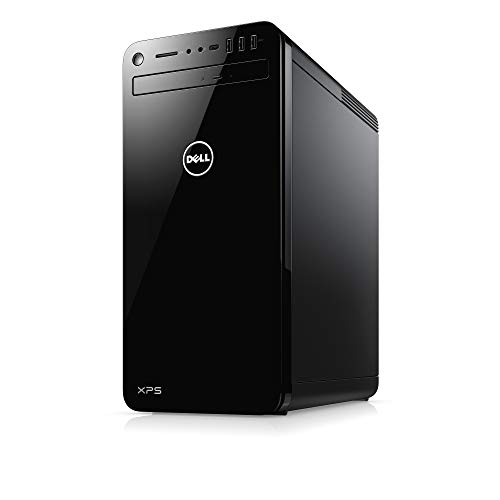 Dell XPS 8000 Gaming Desktop PC with Mouse and Keyboard (Black) - Intel Core i5-9400, 8 GB RAM, 256 GB SSD + 1 TB HDD, NVIDIA GeForce GTX 1050Ti with 4GB GDDR5, Windows 10
