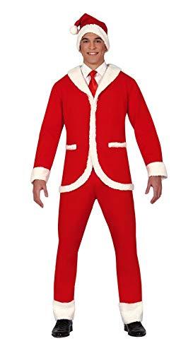 GUIRMA Traje de Hombre de Navidad Completo Traje de señor Santa Claus