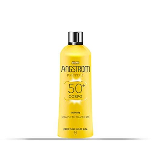 Angstrom Instadry Spray Solaire SPF 50+ Transparent Vaporisateur 150ml