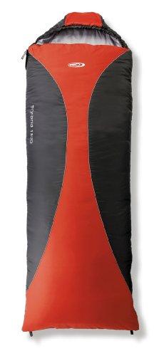 skandika Gelert Schlafsack Try-Brid 1300, Paprika/Black, SBG148