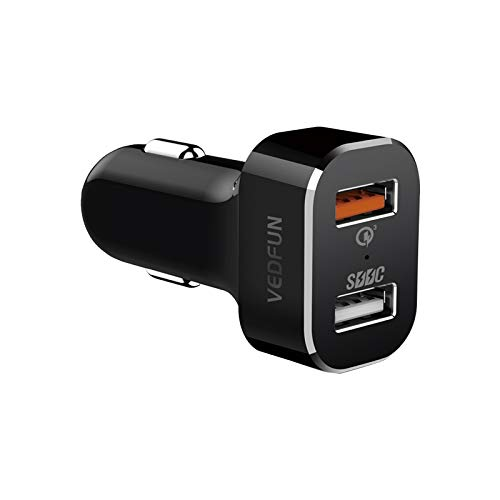 BEIJING  CARACCESSORIES ++ TurboDrive C210 Dual Ports Carga rápida 3.0 Tecnología SDDC Cargador USB for Smartphones y tabletas De Mejora tu Coche
