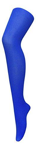 Medias opacas de neón en colores brillantes, tejido denier, para señora (40 unidades), de Sock Snob