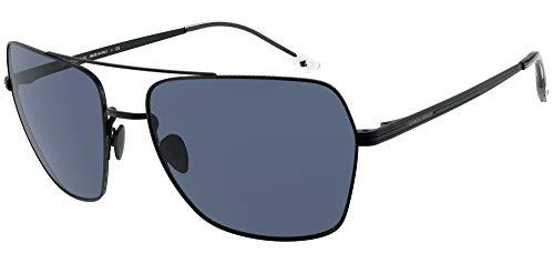 Armani Gafas de sol Giorgio AR6105 300180 Gafas de sol hombre color Negro azul tamaño de lente 62 mm