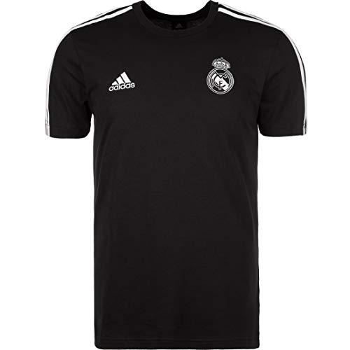 adidas 2018-2019 Real Madrid 3S Tee (Black)