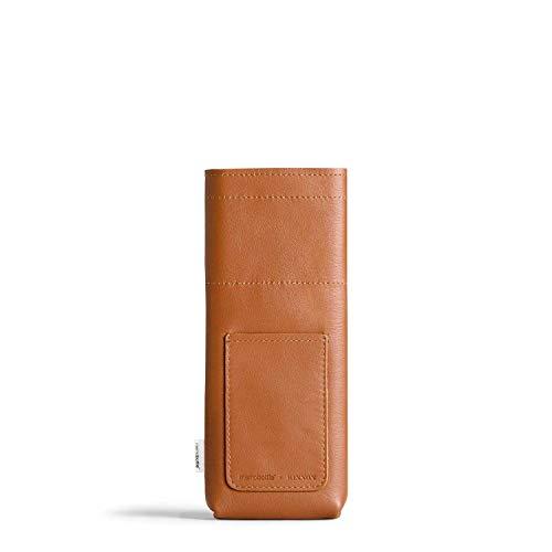 memobottle Slim Leather Sleeve/Funda de piel para botella de agua