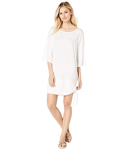 Michael Michael Kors Iconic Solids Side Tie Cover-Up White XS