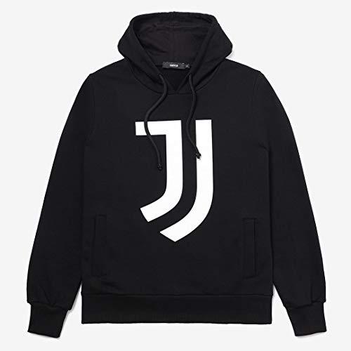 Juventus Felpa con Cappuccio - Hoodie Black - 100% Originale - 100% Prodotto Ufficiale - Uomo - Scegli la Taglia (Taglia M)