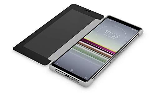 Sony Xperia 5 Style Cover - Funda Oficial para Xperia 5 con Tapa Frontal Transparente y Acceso Lateral, protección Premium para tu Sony Xperia 5