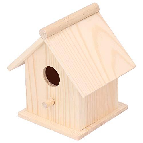 Struttura Morbida di Alta qualità Casetta per Uccelli in Legno Casetta per Uccelli Bella nidi per Uccelli Mangiatoia per Uccelli Ornamento Decorativo