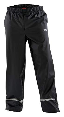 Owney Imaq Pantalon imperméable unisexe Noir