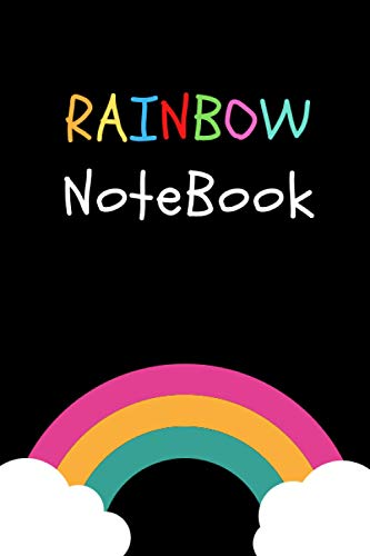 Rainbow Notebook: Lined Notebook | Daily planner | Journal Gift | 110 Pages | 6×9 | Soft Cover, Matte finish