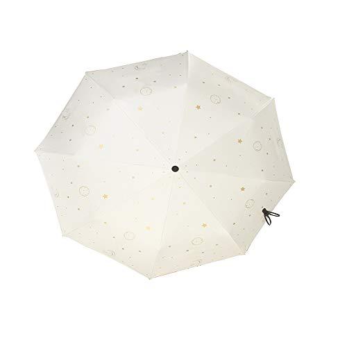 CNAJOI-TDFY Parasol Portatif Léger, Protection UV, Parapluie Pliant Long De 20 Cm pour Le Voyage