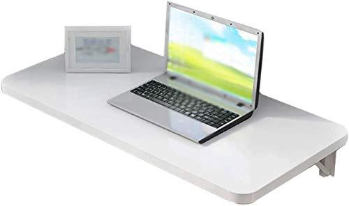 DNSJB Mesa plegable de pared plegable de pared simple mesa de ordenador para colgar en la pared, respetuosa con el medio ambiente y potente mesa auxiliar de carga (tamaño: 100 x 40 cm)