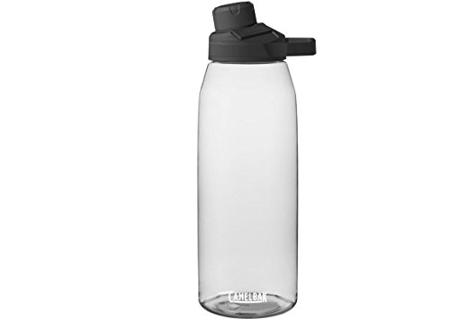 CamelBak Chute Mag BPA Free Water Bottle 50 oz, Clear