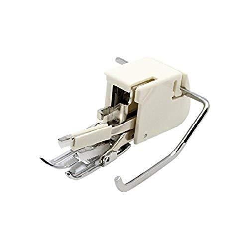 Alfa Prensatelas de doble arrastre para materiales extra gruesos, enmangue bajo, accesorio para máquina de coser, acero inoxidable y plástico