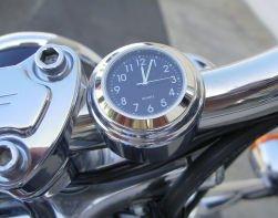 Riders Passion Harley Stem Nut Mount Black Clock RP-DSCB