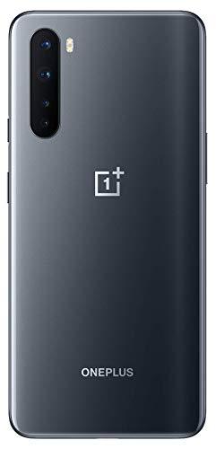 OnePlus NORD (5G) 8GB RAM 128GB Smartphone ohne Vertrag, Quad Kamera, Dual SIM. Jetzt mit Alexa Built-in - 2 Jahre Garantie - Onyx Grau - 3