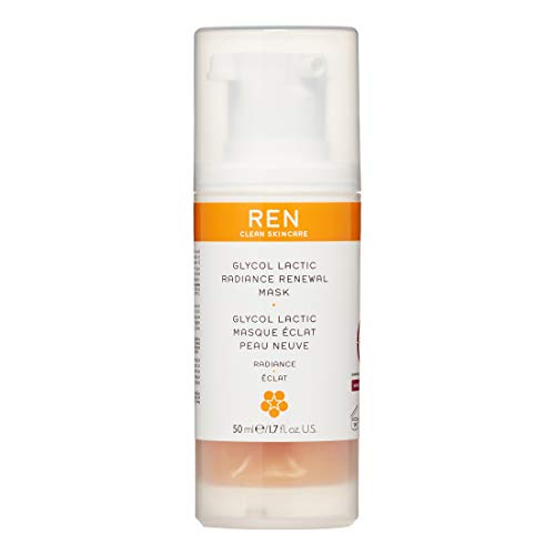 REN REN Radiance Glycolactic Renewal Mask, 50 ml