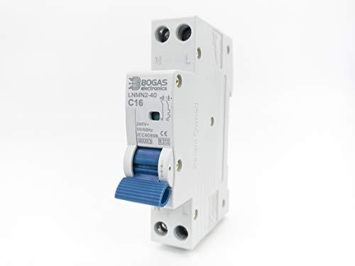 Interruttore automatico magnetotermico terzo e residenziale Curva C DPN 6KA (16 Ampere)