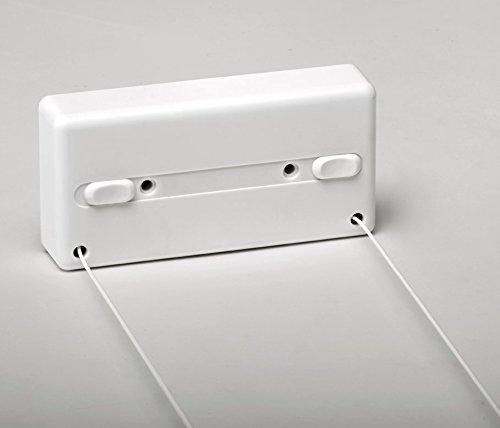 SECATOT TENDEDERO AUTOMATICO Cuadrado 2 Cuerdas, Blanco
