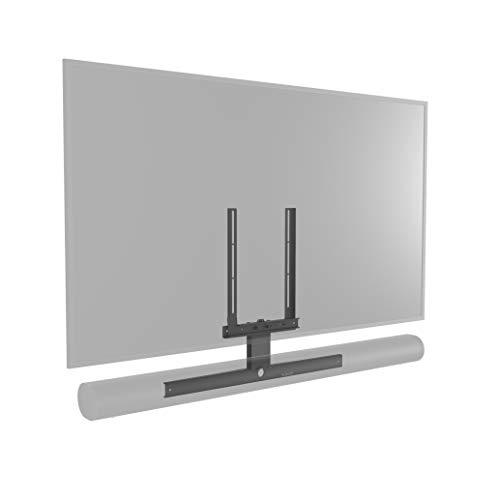 Cavus CFARCB Soundbar Rahmen geeignet für Sonos ARC Soundbar - Vesa Halterung für eine TV-Wandhalterung/TV-Bodenständer - Schwarz