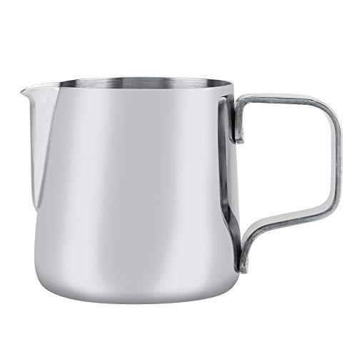 Melkopschuimbeker, melkopschuimbeker roestvrij staal koffiekopje Kkan Latte Art Tools 100/150/200/350/600/1000/1500 ml (optioneel) 150 ml.