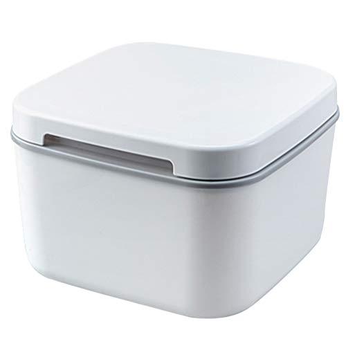 Hemoton - Contenedor para la conservación del arroz de 5 kg dispensador de harina para cereales, contenedor para dispensar arroz a prueba de humedad, caja sellada para alimentos con
