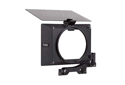 Wooden Camera Lightweight Zip Box Pro 4x5.65 Matte Box with Swing-Away Bracket, Interchangeable Mounting Backs System, Supports Up to Three Filters, Mounts on 15mm LW Rods