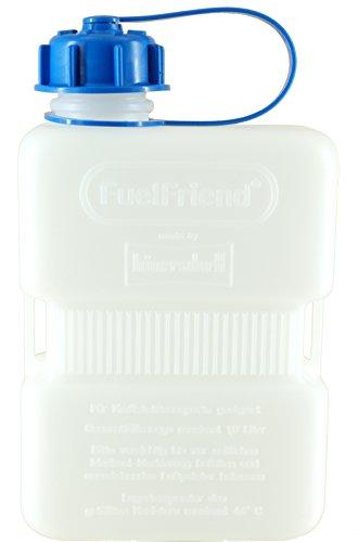 FuelFriend®-Plus Clear Blue 1,0 Liter - Kanister für Trinkwasser, Harnstoff, Adblue®