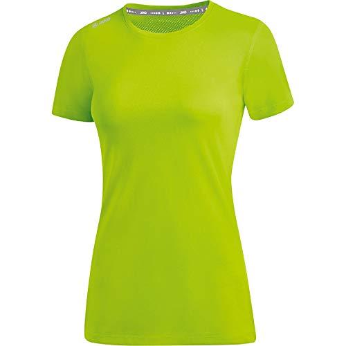 JAKO Damen Run 2.0 T-Shirt, neongrün, 36