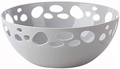 YYNHA Cuencos de Almacenamiento para el hogar Cuencos creativos de Frutas Hogar de plástico Hallow Sala de Estar Moderno Creativo Candy Dulces Dried Bowls Coffee Table Fruit Snack Placa hiohua