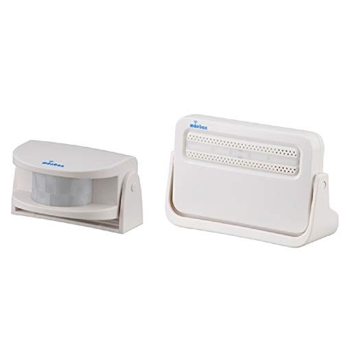 オーム電機『monbanワイヤレスチャイム人感センサー送信機+電池式受信機(08-0516OCH-M220)』