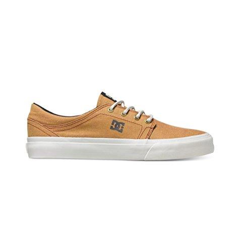 DC Shoes Mens Shoes Trase Tx Se - Low-Top Shoes - Unisex - US 7.5 - Yellow Wheat US 7.5 / UK 6.5 / EU 40