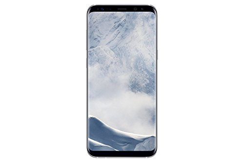 Samsung Galaxy S8 - Smartphone libre de 5.8in (4 G, Bluetooth, Octa-Core S, 64 GB memoria interna, 4 GB RAM, camara de 12 MP, Android), Plata, - [Versión española] (Reacondicionado)