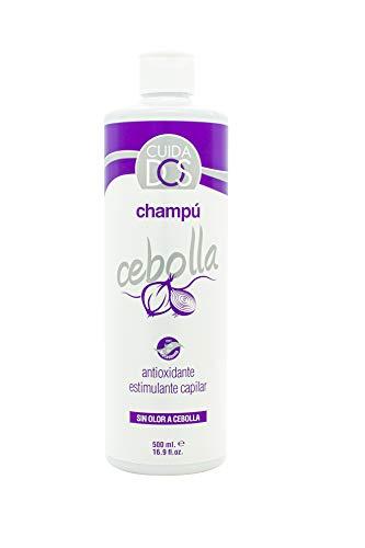 Cuidados Champú de cebolla. Reduce la grasa. Estimulante capilar. Antioxidante cabello. Purificante. Todo tipo de cabello. Aceite de Macadamia - 500 ml