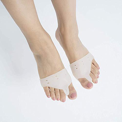 Für alles dankbar Zehenschutz Silikon Vorfußpolster Fersenschutz Fußprothese Split Socks Schnürsenkel