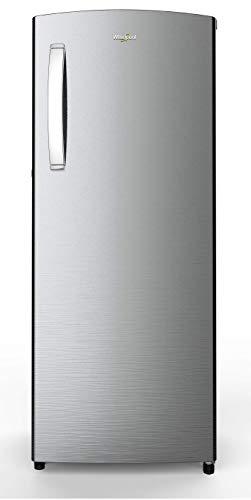 Whirlpool 215 L 5 Star Inverter Direct-Cool Single Door Refrigerator (230 IMPRO PRM 5S INV ALPHA STEEL, Alpha Steel)