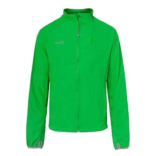 Izas BREZEL Chaqueta Impermeable para Running, Hombre, Verde Claro, L