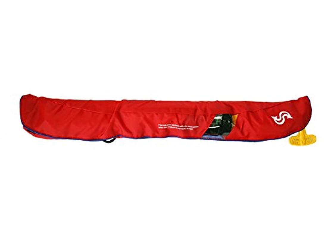 サッカー消去暫定Takashina(高階救命器具) 国土交通省承認 腰巻式ライフジャケット 桜マーク タイプA