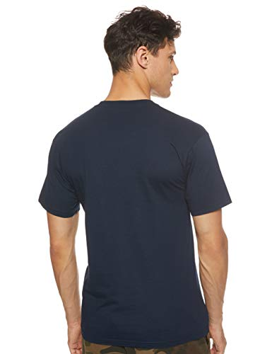Vans Left Chest Logo Tee T-Shirt Uomo, Blu (Navy-White Blue Navy), Medium (93 - 102 cm)